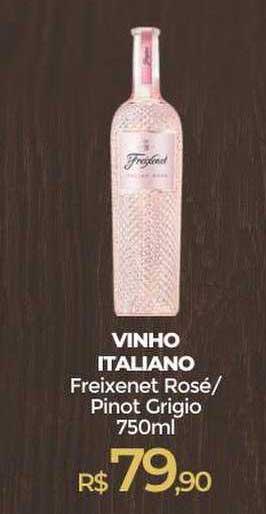Peg Pese Vinho Italinao Freixenet Rosé Pinot Grigio