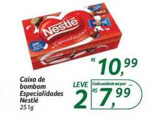 Hipermercado Big Caixa De Bombom Especialidades Nestlé