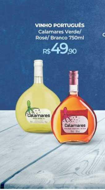 Peg Pese Vinho Português Calamares Verde Rosé Branco