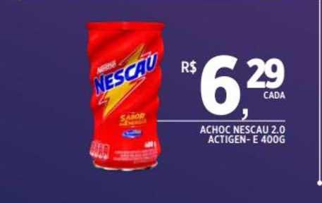 DB Supermercados Achoc Nescau 2.0 Actigen E