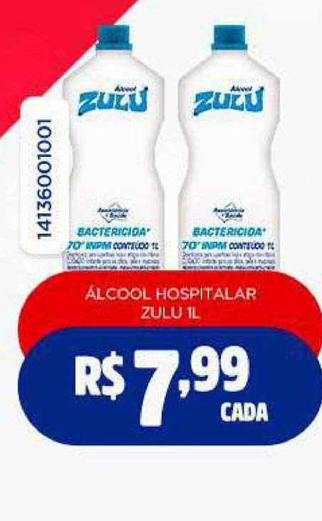 Freitas Varejo álcool Hospitalar Zulu