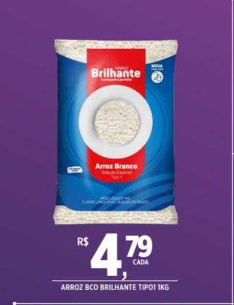 DB Supermercados Arroz Bco Brilhante Tipo1