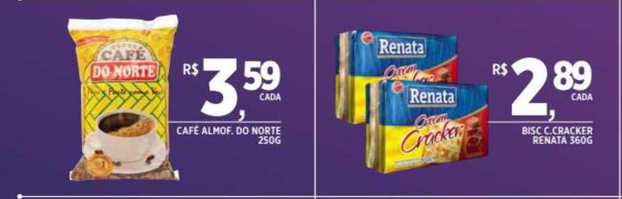 DB Supermercados Café Almof. Do Norte Bisc C.cracker Renata