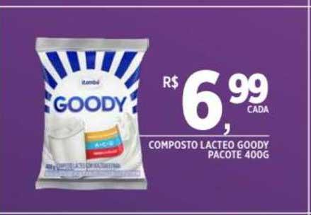 DB Supermercados Composto Lacteo Goody Pacote