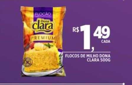 DB Supermercados Flocos De Milho Dona Clara