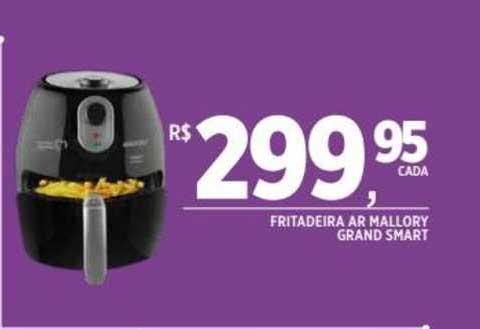DB Supermercados Fritadeira Ar Mallory Grand Smart