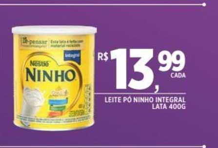 DB Supermercados Leite Pó Ninho Integral Lata