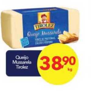 Lopes Supermercados Queijo Mussarela Tirolez