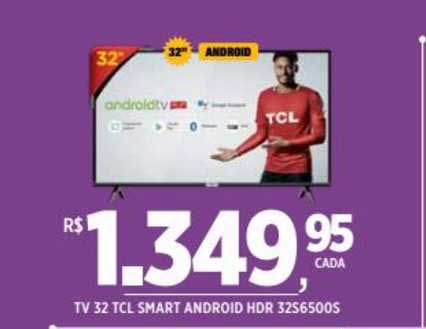 DB Supermercados Tv 32 Tcl Smart Android Hdr 32s6500s