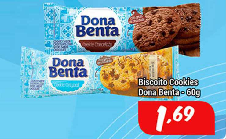 Shibata Supermercados Biscoito Cookies Dona Benta