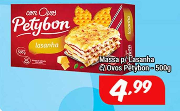 Shibata Supermercados Massa P Lasanha C Ovos Petybon