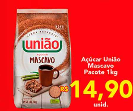Shibata Supermercados Açúcar União Mascavo Pacote