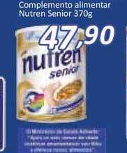 Supermercados Savegnago Complemento Alimentar Nutren Senior