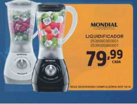 Casa Freitas Liquidificador Mondial