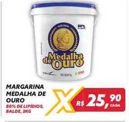 Maxxi Atacado Margarina Medalha De Ouro