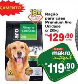 Makro Ração Para Cães Premium Aro