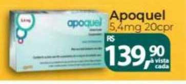 Farmácia Indiana Apoquel 5.4mg