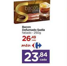 Carrefour Bacon Defumado Sadia
