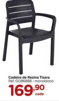 Carrefour Cadeira De Resina Tisara
