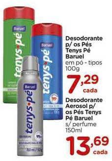 Carrefour Desodorante P Os Pés Tenys Pé Baruel Desodorante Aerosol P Os Pés Tenys Pé Baruel