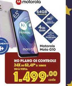 Carrefour Motorola Moto G10