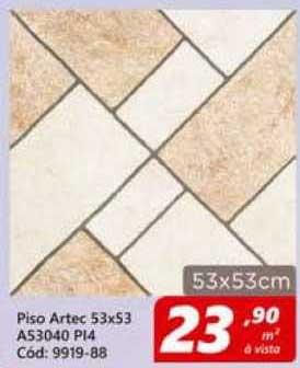 Lojas Becker Piso Artec 53x53 A53040 Pi4