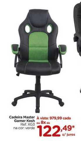 Carrefour Cadeira Master Gamer Kesh