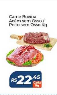 Atakarejo Carne Bovina Acém Sem Osso Peito Sem Osso