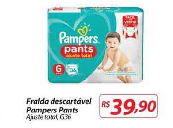 Mercadorama Fralda Descartável Pampers Pants Ajuste Total G30