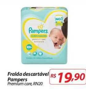 Mercadorama Fralda Descartável Pampers Premium Care Rn20