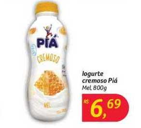 Hipermercado Big Iogurte Cremoso Piá Mel