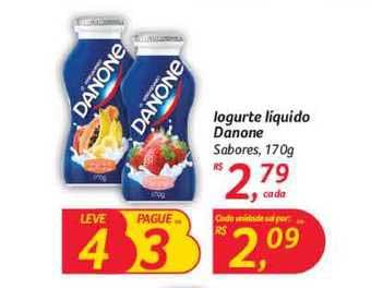 Hipermercado Big Iogurte Líquido Danone Sabores