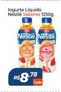 Atakarejo Iogurte Líquido Nestlé Sabores