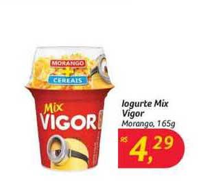 Hipermercado Big Iogurte Mix Vigor Morango