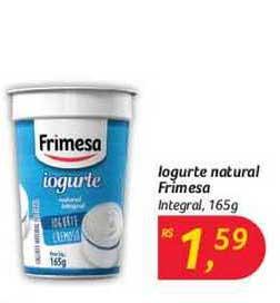 Hipermercado Big Iogurte Natural Frimesa Integral
