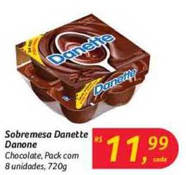 Hipermercado Big Sobremesa Danette Danone Chocolate
