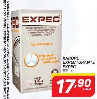GBarbosa Xarope Expectorante Expec