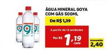 Bahamas Mix água Mineral Goya Com Gás