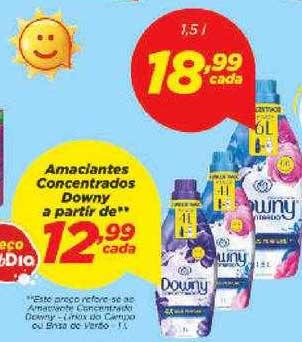 Supermercado Dia Amanciantes Concentrados Downy