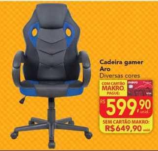 Makro Cadeira Gamer Aro