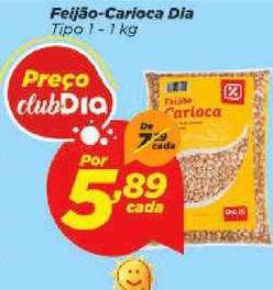 Supermercado Dia Feijão Carioca Dia