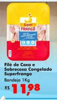 Big Box Filé De Coxa E Sobrecoxa Congelado Superfrango