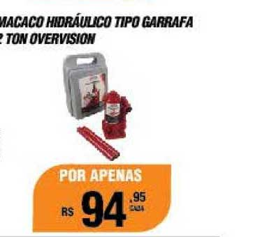 AutoZone Macaco Hidráulico Tipo Garrafa 2 Ton Overvision