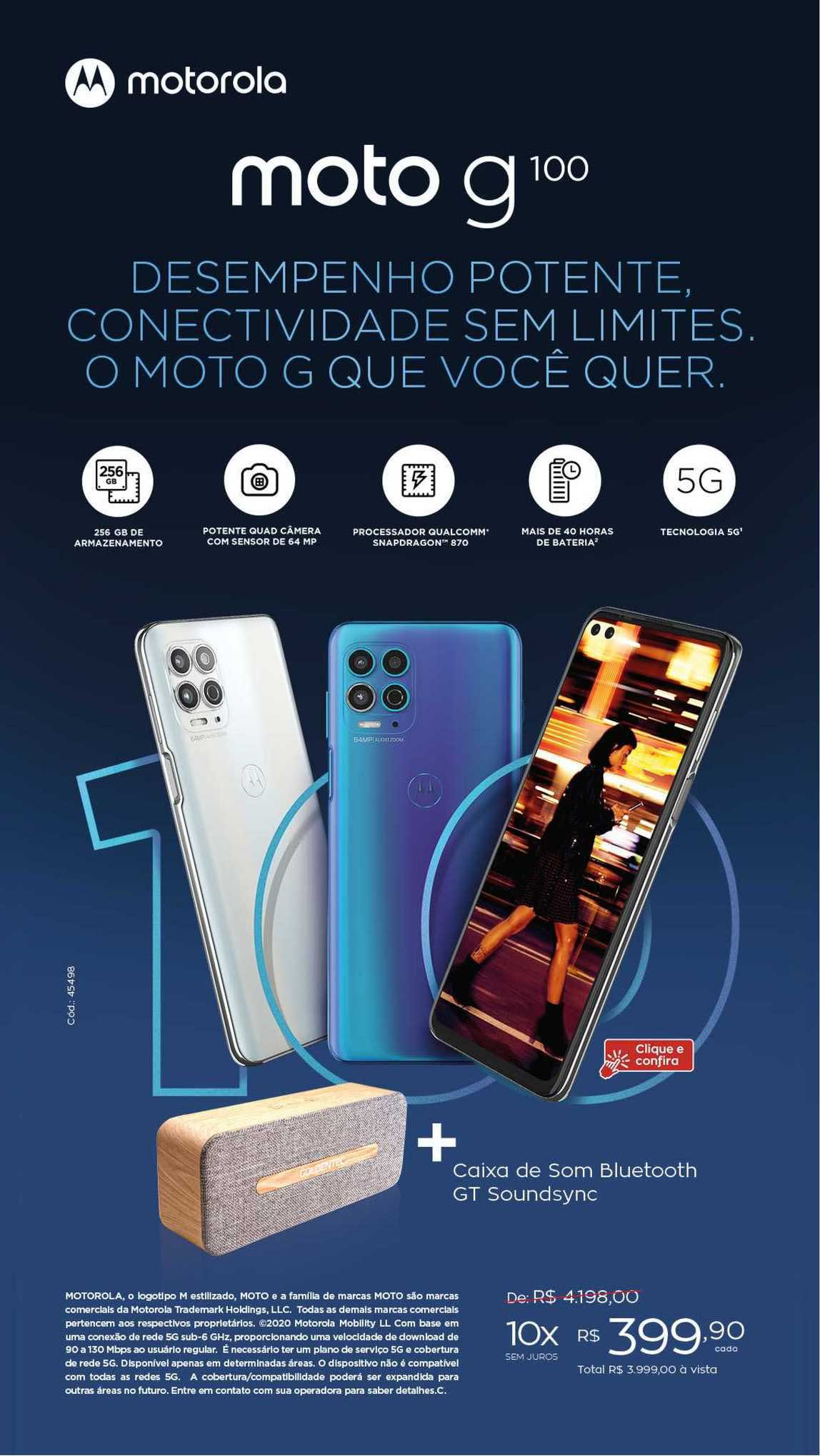 Ibyte Motorola Moto G100