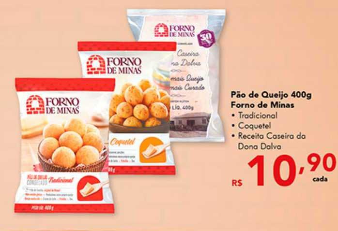 Shibata Supermercados Pão De Queijo Forno De Minas