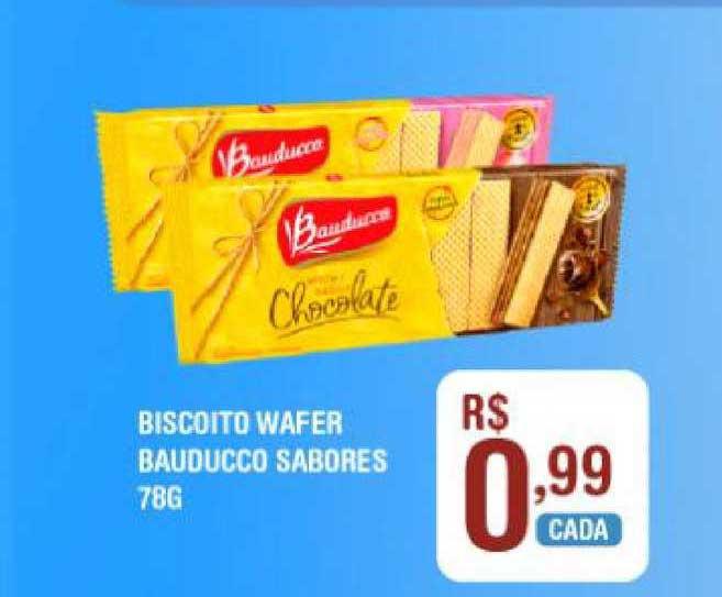 Extrabom Supermercados Biscoito Wafer Bauducco Sabores