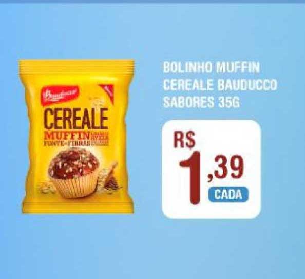 Extrabom Supermercados Bolinho Muffin Cereale Bauducco