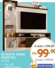 Benoit Estante Home Madetec