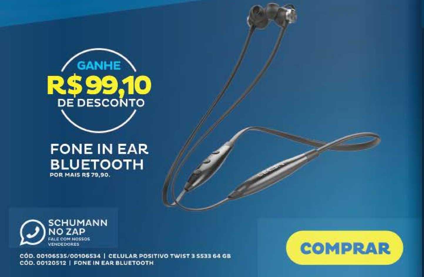 Schumann Fone In Ear Bluetooth