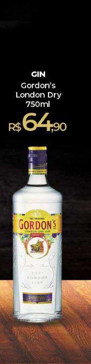 Peg Pese Gin Gordon's London Dry